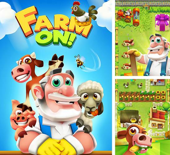 In addition to the game Cake mania 3 for iPhone, iPad or iPod, you can also download Farm on! for free.