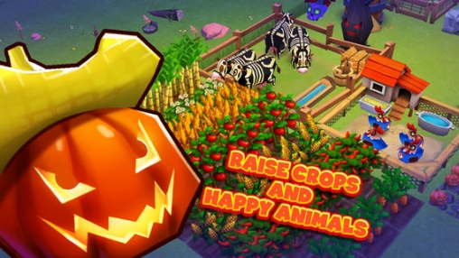 Descarga gratuita de Farm Story 2: Halloween para iPhone, iPad y iPod.