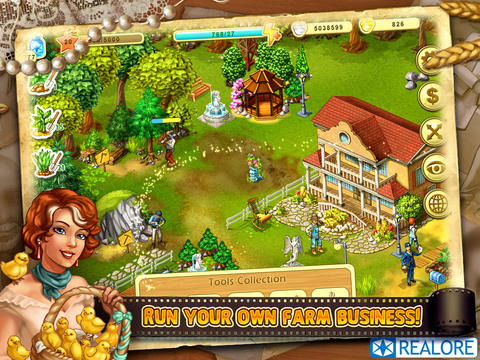 Download Farm Up iPhone free game.