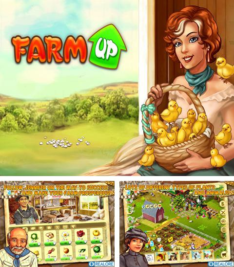 In addition to the game Zombie сommando for iPhone, iPad or iPod, you can also download Farm Up for free.