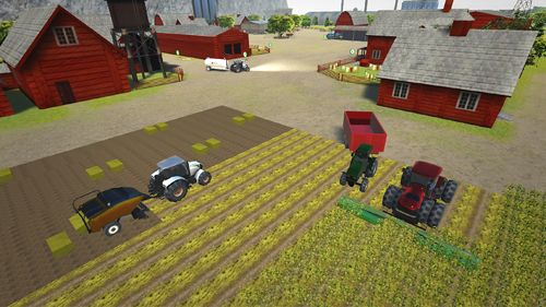Screenshots of the Farming pro 2015 game for iPhone, iPad or iPod.