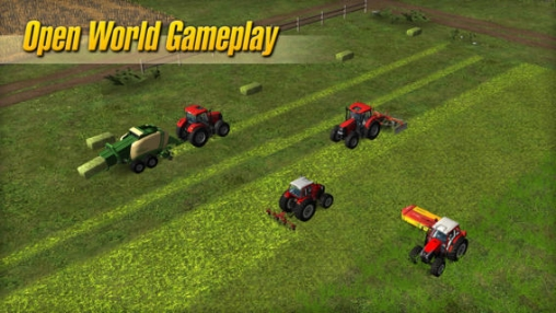 iPhone、iPad 或 iPod 版Farming Simulator 14游戏截图。