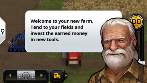 Capturas de pantalla del juego Farming Simulator 14 para iPhone, iPad o iPod.