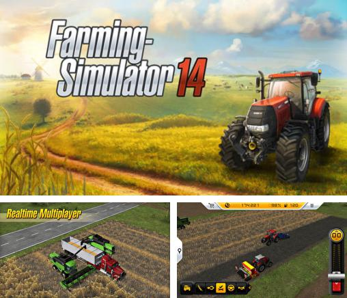 In addition to the game Talking Carl! for iPhone, iPad or iPod, you can also download Farming Simulator 14 for free.