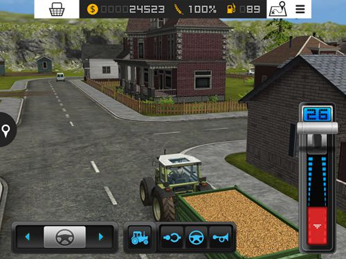 Descarga gratuita de Farming simulator 16 para iPhone, iPad y iPod.