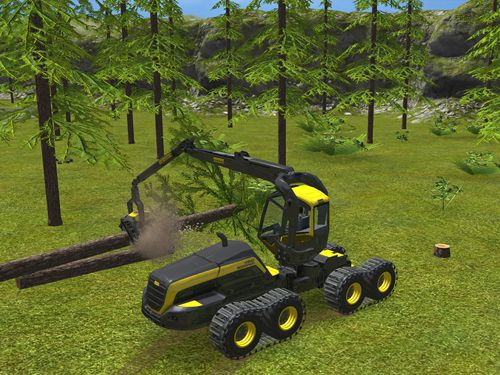 Capturas de pantalla del juego Farming simulator 16 para iPhone, iPad o iPod.