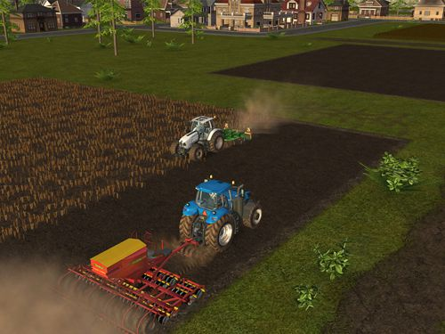 Screenshots do jogo Farming simulator 16 para iPhone, iPad ou iPod.