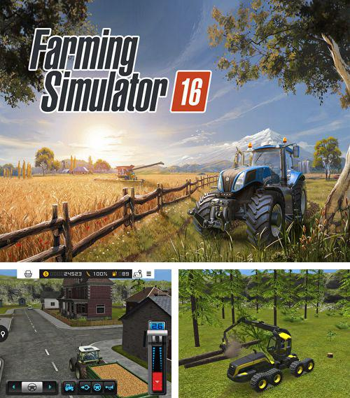除了 iPhone、iPad 或 iPod 游戏,您还可以免费下载Farming simulator 16, 。
