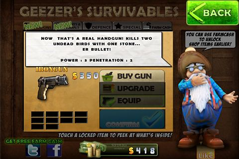Free Farmkill download for iPhone, iPad and iPod.