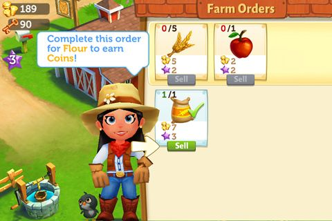 Download Farmville 2: Country escape iPhone free game.