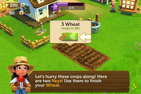 Screenshots of the Farmville 2: Country escape game for iPhone, iPad or iPod.