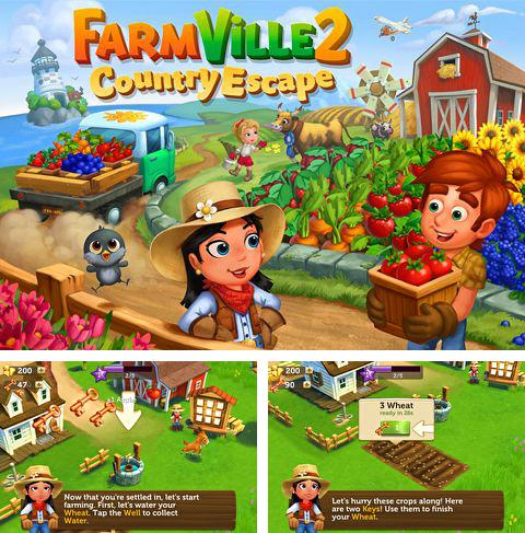 In addition to the game Panmorphia for iPhone, iPad or iPod, you can also download Farmville 2: Country escape for free.