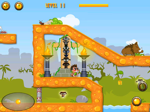 Screenshots of the Fart brothers game for iPhone, iPad or iPod.