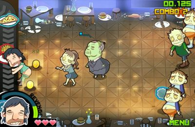 Capturas de pantalla del juego Farts vs. Zombies para iPhone, iPad o iPod.