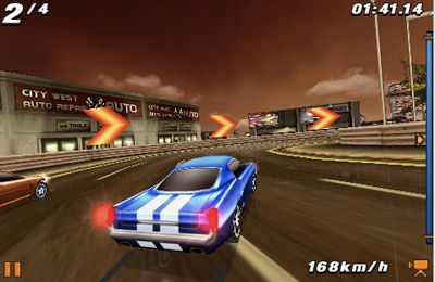 iPhone、iPad 或 iPod 版Fast and Furious: Pink Slip游戏截图。