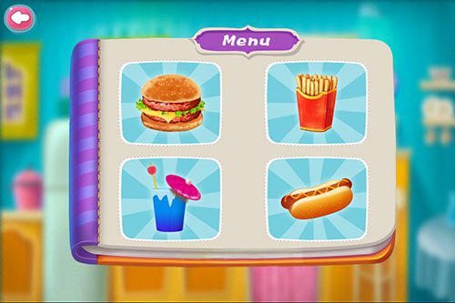 Capturas de pantalla del juego Fast food maker para iPhone, iPad o iPod.