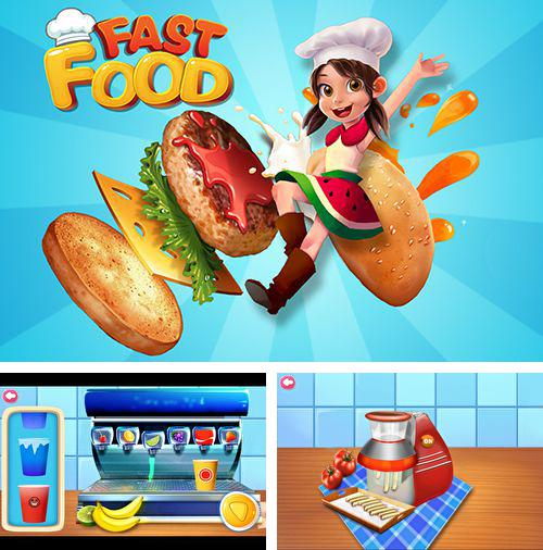 In addition to the game Fieldrunners 2 for iPhone, iPad or iPod, you can also download Fast food maker for free.