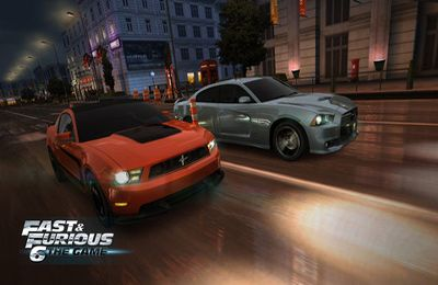 Descarga gratuita de Fast & Furious 6: The Game para iPhone, iPad y iPod.