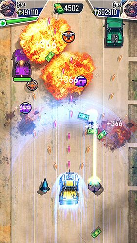Download Fastlane: Road to revenge iPhone free game.
