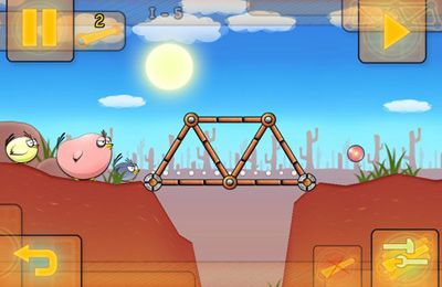 Téléchargement gratuit de Fat Birds Build a Bridge! pour iPhone, iPad et iPod.