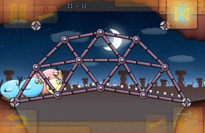 Игра Fat Birds Build a Bridge! для iPhone