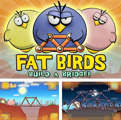In addition to the game Scuba dupa for iPhone, iPad or iPod, you can also download Fat Birds Build a Bridge! for free.