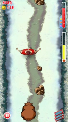 Descarga gratuita de Fat man rolling para iPhone, iPad y iPod.