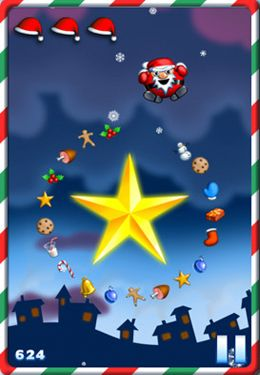 Download Fat Roll Santa iPhone free game.