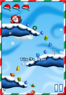 Free Fat Roll Santa download for iPhone, iPad and iPod.