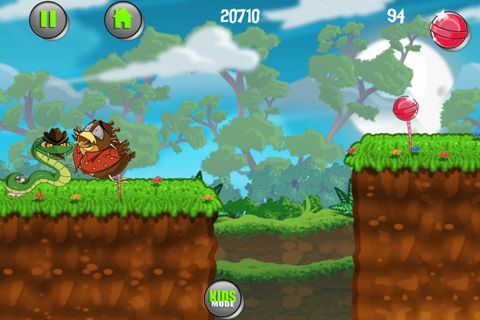 Screenshots vom Spiel Fat Tony bird escape für iPhone, iPad oder iPod.
