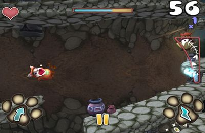 Screenshots of the Fatcat Rush game for iPhone, iPad or iPod.