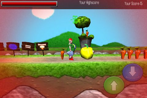 Download Fatty jump iPhone free game.