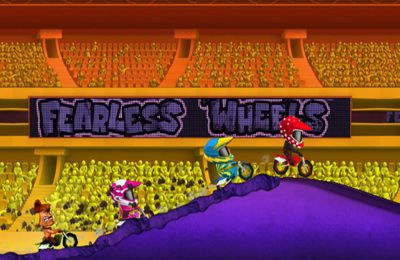 Screenshots do jogo Fearless Wheels para iPhone, iPad ou iPod.