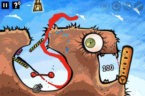 Capturas de pantalla del juego Feed me oil para iPhone, iPad o iPod.