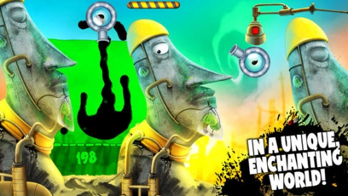 Capturas de pantalla del juego Feed me oil 2 para iPhone, iPad o iPod.