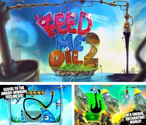 In addition to the game Boom Boom Racing for iPhone, iPad or iPod, you can also download Feed me oil 2 for free.