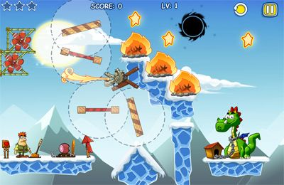 Screenshots vom Spiel Feed that dragon für iPhone, iPad oder iPod.