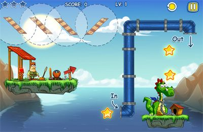 Screenshots do jogo Feed that dragon para iPhone, iPad ou iPod.