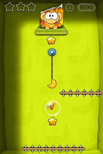 Capturas de pantalla del juego Feed the ape para iPhone, iPad o iPod.
