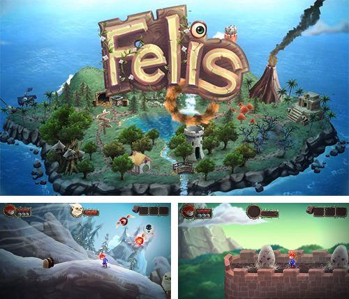 In addition to the game Heroes of Camelot for iPhone, iPad or iPod, you can also download Felis: Save all the cats! for free.