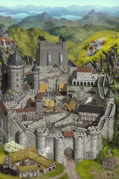 Écrans du jeu Lords and Knights pour iPhone, iPad ou iPod.