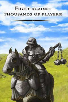 Capturas de pantalla del juego Lords and Knights para iPhone, iPad o iPod.