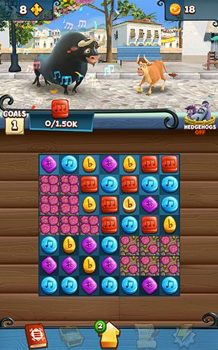 Screenshots do jogo Ferdinand: Unstoppabull para iPhone, iPad ou iPod.