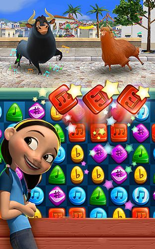 Screenshots of the Ferdinand: Unstoppabull game for iPhone, iPad or iPod.