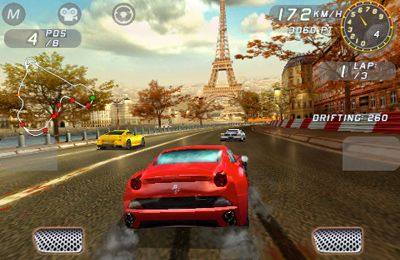 Capturas de pantalla del juego Ferrari GT. Evolution para iPhone, iPad o iPod.