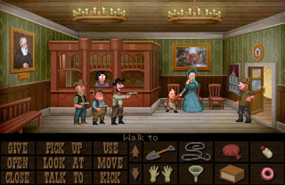 Screenshots vom Spiel Fester Mudd: Curse of the Gold – Episode 1 für iPhone, iPad oder iPod.