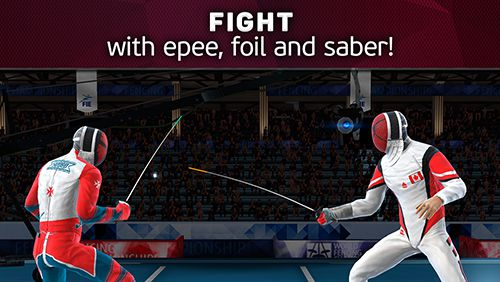 Capturas de pantalla del juego FIE swordplay para iPhone, iPad o iPod.