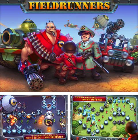 In addition to the game Hugo Troll Race for iPhone, iPad or iPod, you can also download Fieldrunners for free.