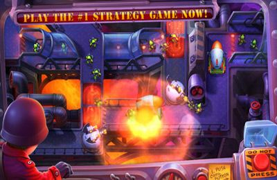 Screenshots of the Fieldrunners 2 game for iPhone, iPad or iPod.