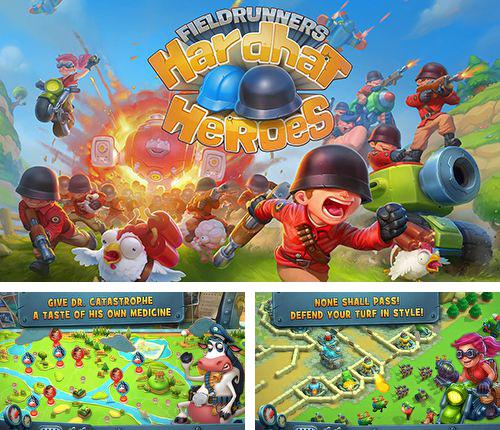 In addition to the game Zombie hunter: Bring death to the dead for iPhone, iPad or iPod, you can also download Fieldrunners: Hardhat heroes for free.